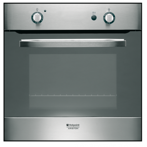 Forno a gas da incasso ariston fh g ix ha s inox - Forno incasso a gas ...